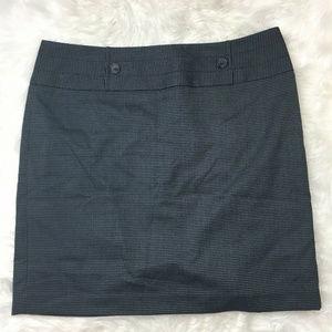 Women's Career Straight Gray A-Line Pencil Skirt